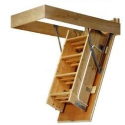 Good Pull Down Attic Stairs   Like These, But The Bottom Painted To Match The  Ceiling