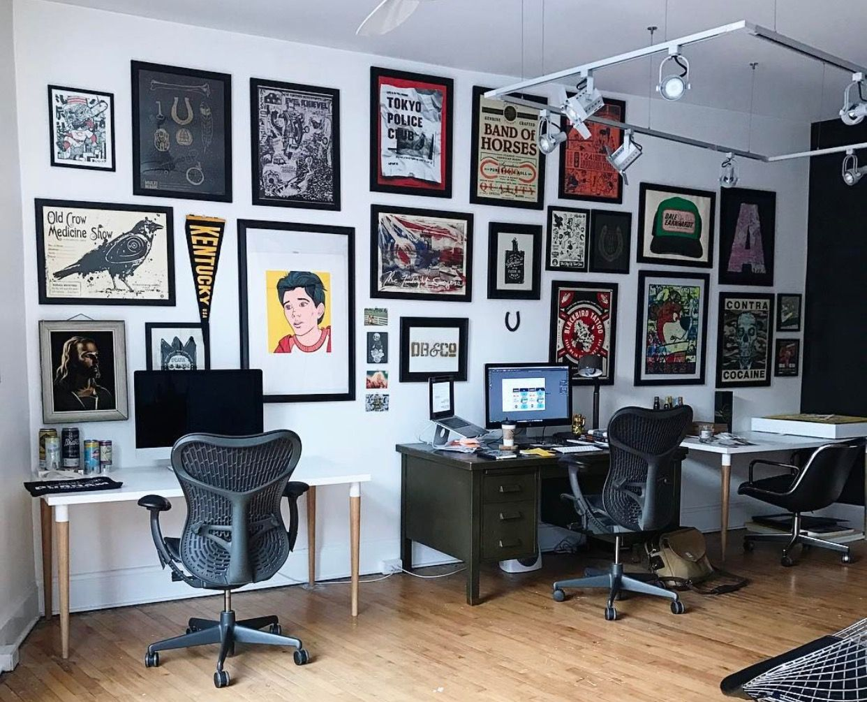Pin by Adam Gold on Office | Home office design, Workspace ...