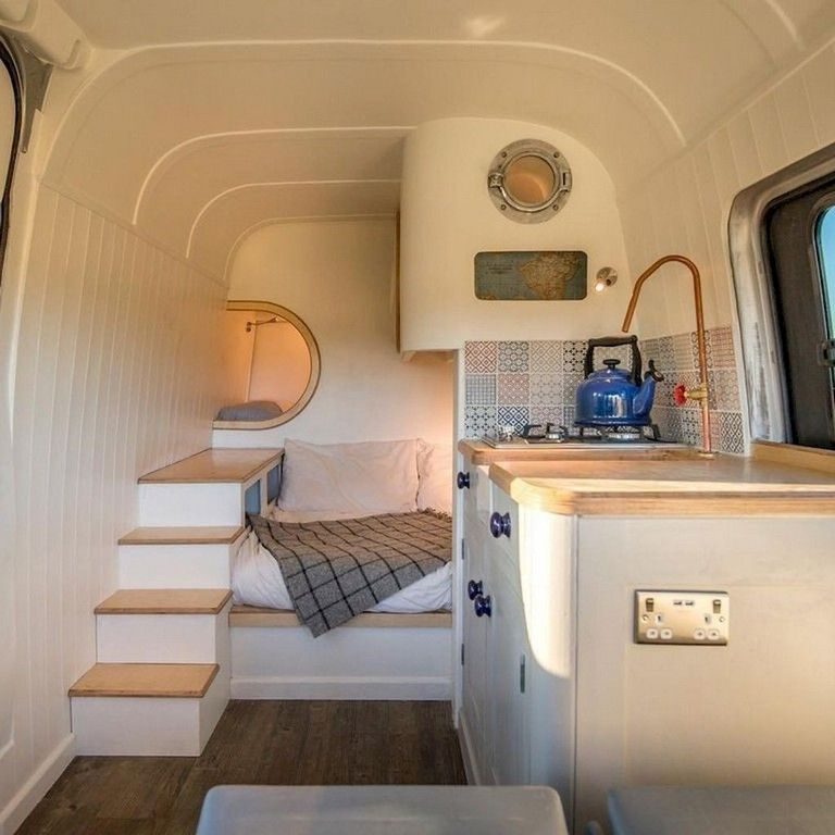 80 Awesome Diy Camper Van Conversion For Road Trip Vacation