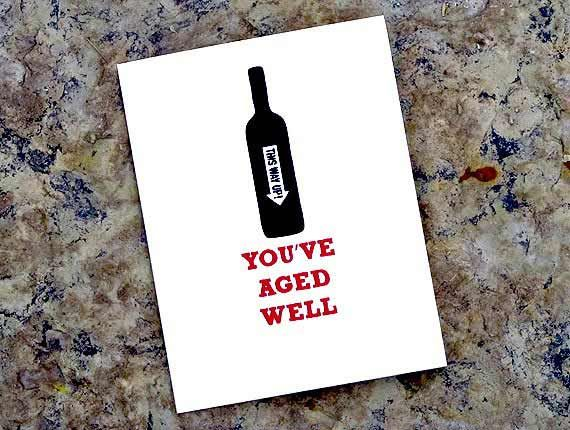 Happy Birthday Male Wine ~ Great for wine lovers make someone feel good with this fun