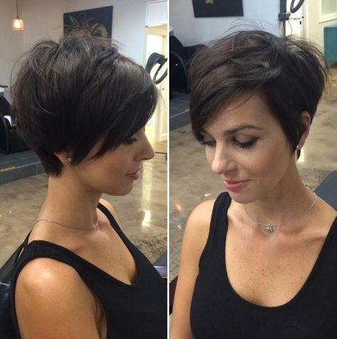 Perfekt Office Frisuren Für Kurzes Haar   Stilvolle Kurze Pixie Haarschnitt Für  Frauen