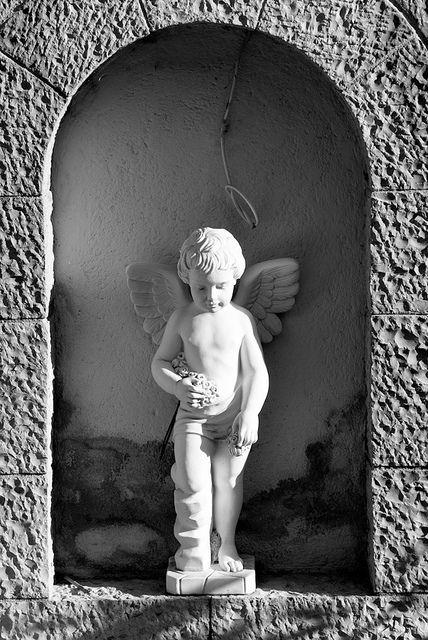 Gris Grey Ange Gardien Guardian Angel Ange Chérubin