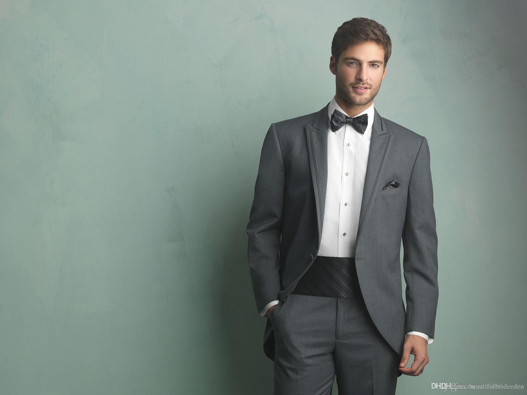 2016 New Arrival Under 100 Grey Handsome Mens Complete Designer ...