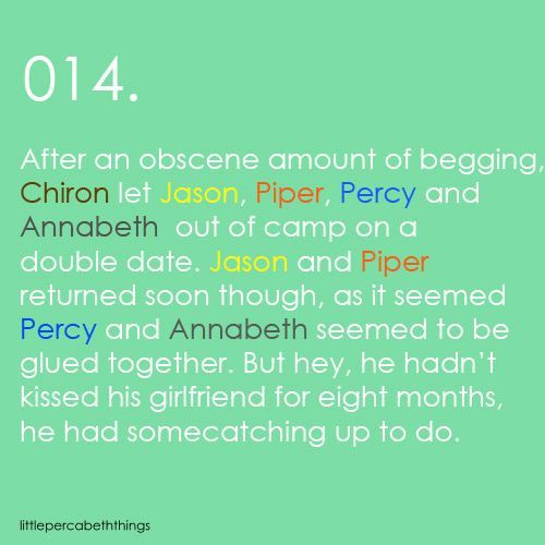 The Bet Short Story Quotes: Percabeth Headcanons - Google Search