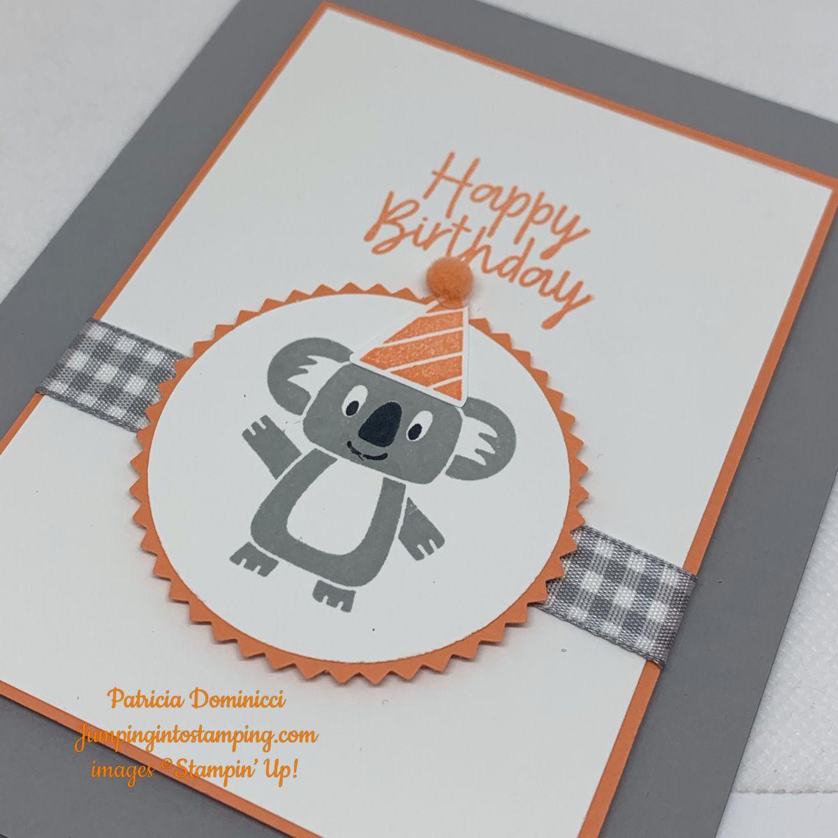 It S A Birthday Bonanza Kids Birthday Cards Stampin Up Birthday Cards Kids Cards