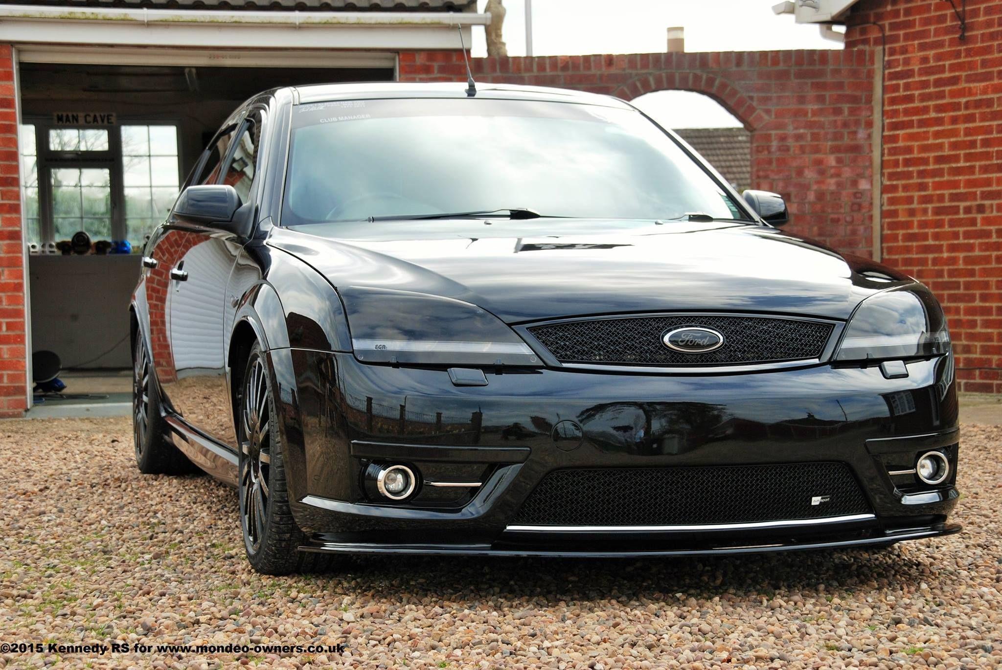 Black Ford Mondeo St Mk3 In Dark Version Auta
