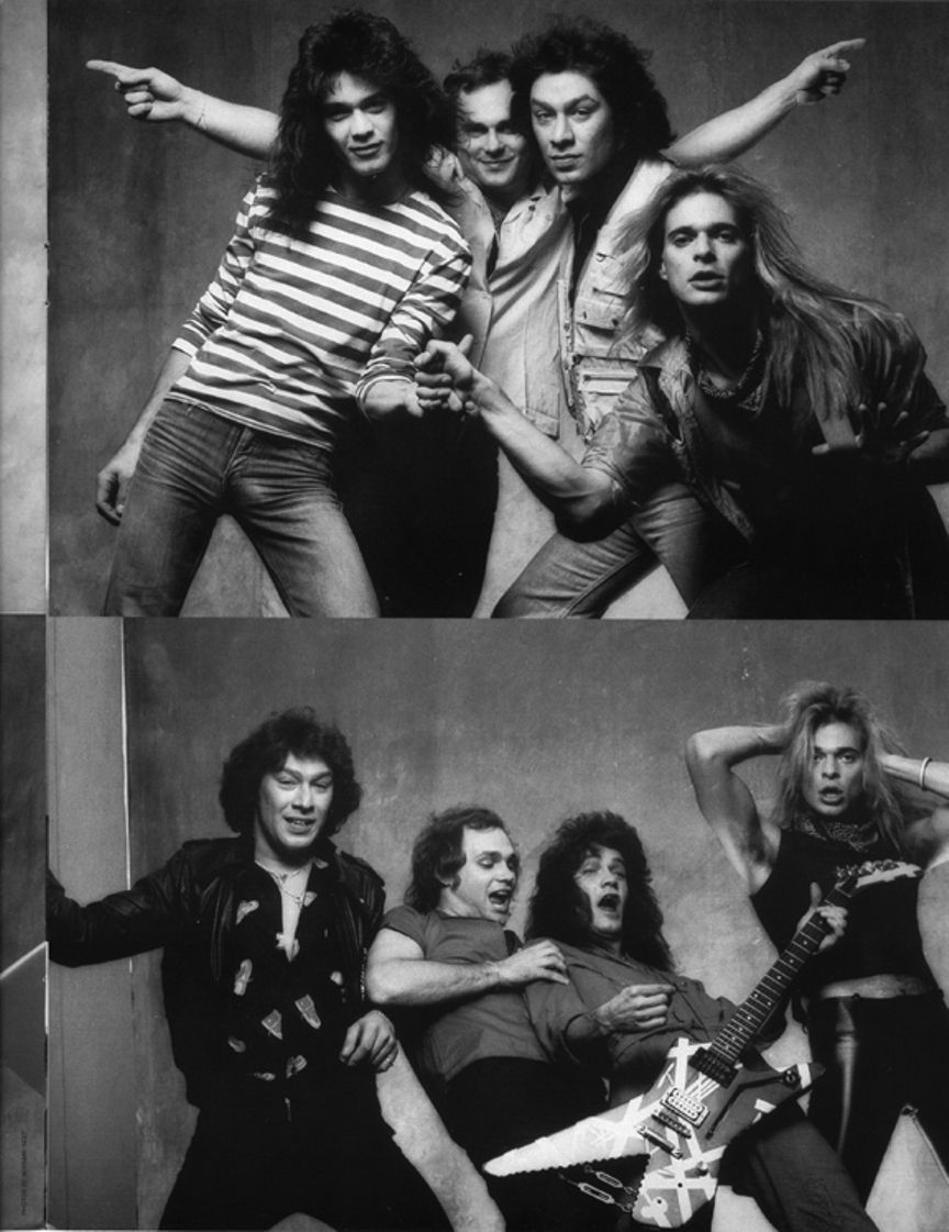 Van Halen Outtake Photos Van Halen David Lee Roth Rock And Roll