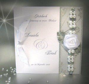 Gästebuch zur Hochzeit mit Namen 11011