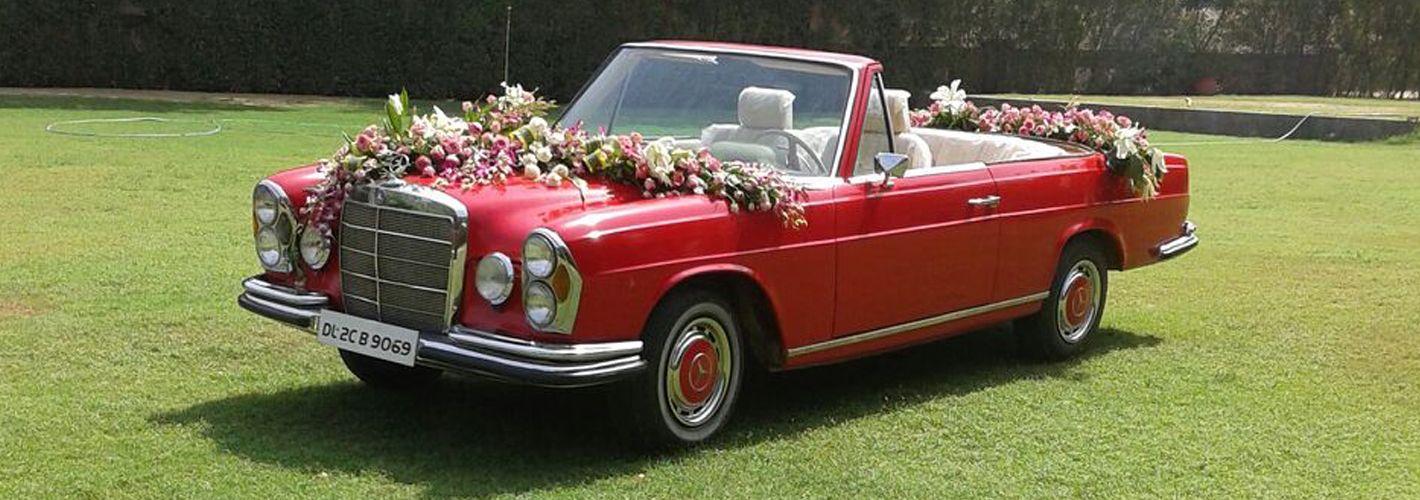 Vintage Cars For Wedding In Delhi   deweddingjpg.com