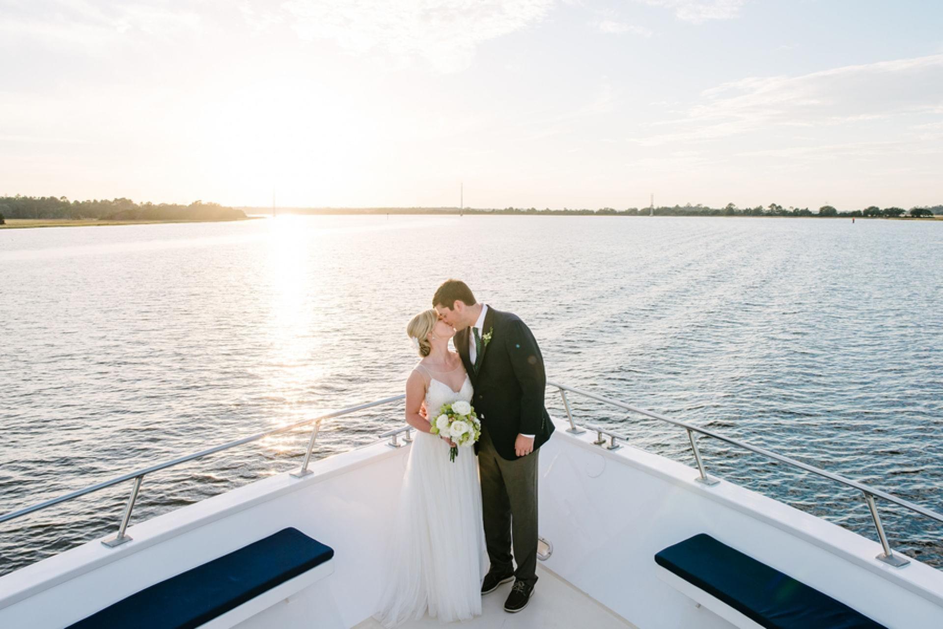 Dreamy Wedding Aboard The Carolina Girl | Charleston, SC