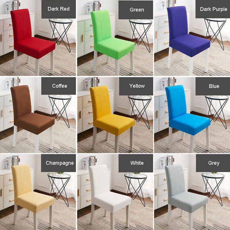 Ebay Sponsored Removable Chair Cover Stretch Slipcovers Wedding