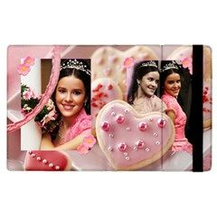 cookie hearts iPad case by Ivelyn - Apple iPad 2 Flip Case  Insert your own photos