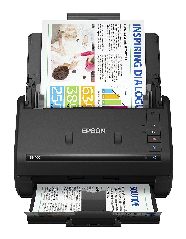 Amazon.com: Epson WorkForce ES-400 Color Duplex Document Scanner for ...