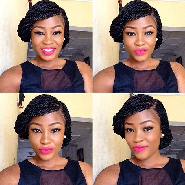 Beauty How S Styling Up Your Braids Braided Hairstyles Updo Twist Braid Hairstyles African Braids Hairstyles