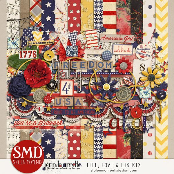 Life, Love & Liberty w/ Jenn Barrette - 4th of July kit