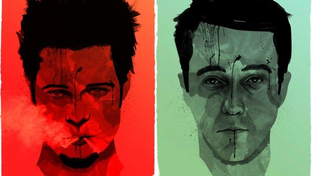 Faces Of Fight Club Wallpaper El Club De La Lucha Novelas