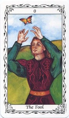 Fool card from the Hudes Tarot...have this deck...