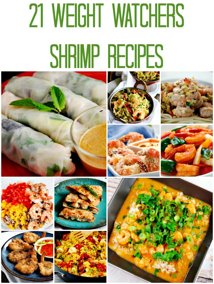 Photo of Weight Watchers Friendly Shrimp Recipes