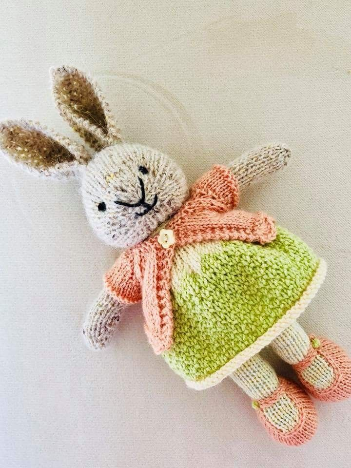 Pin von Brigitte auf Kaninchen Bunny rabbits | Pinterest | Stricken ...