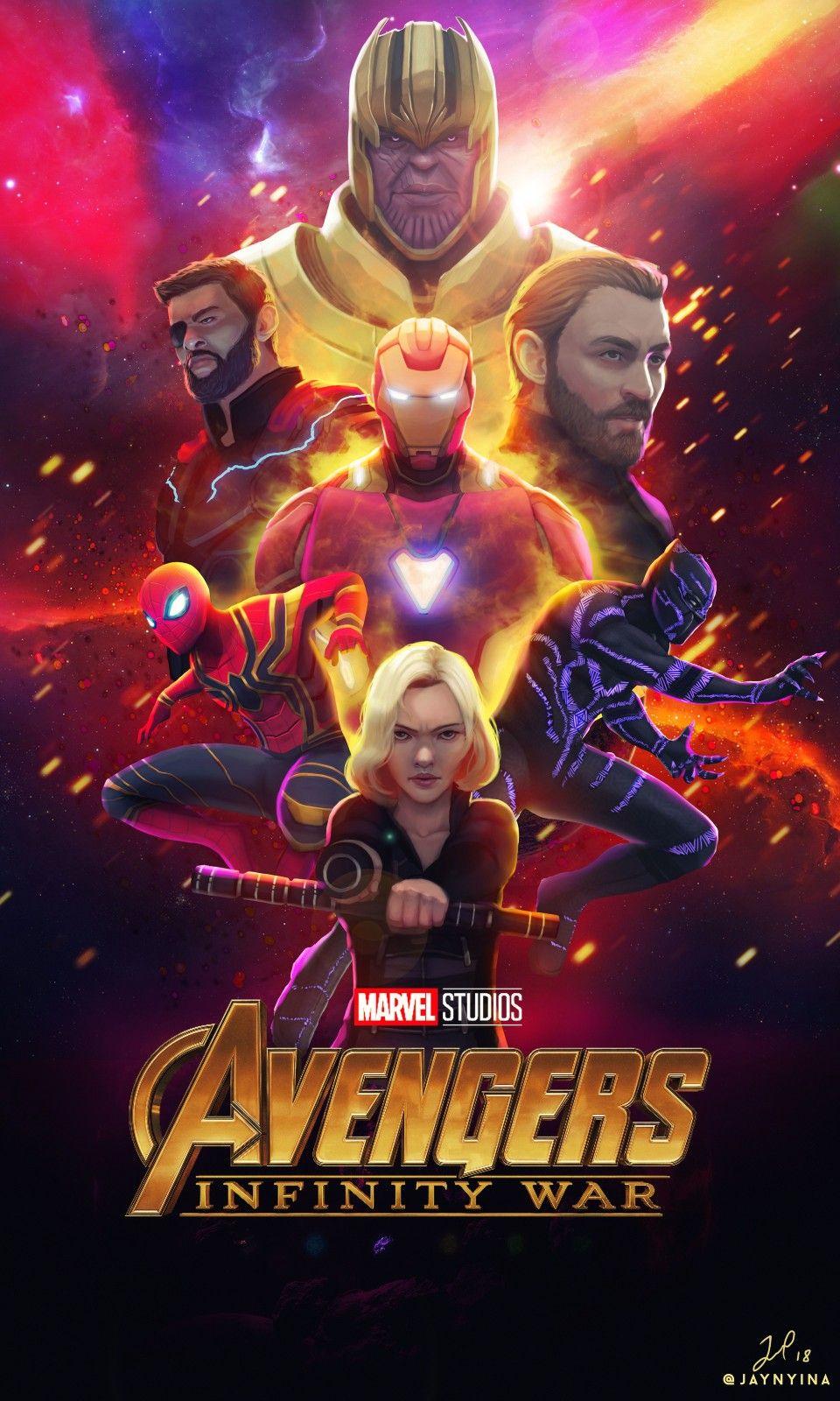 Avengers Infinity War Avengers Poster