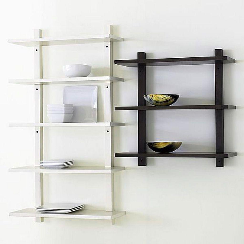 Wood Wall Mounted Shelving Wall Mounted Bookshelves Wall