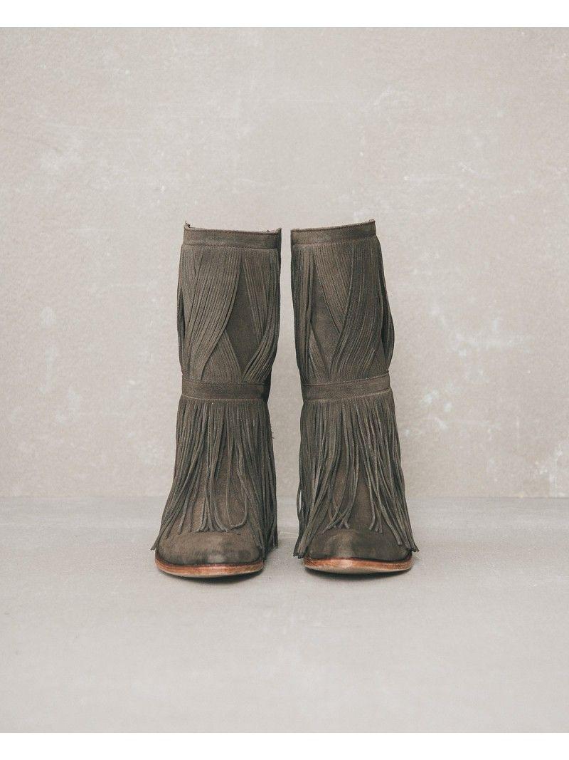 Botas flecos de sendra | SLOWLOVE