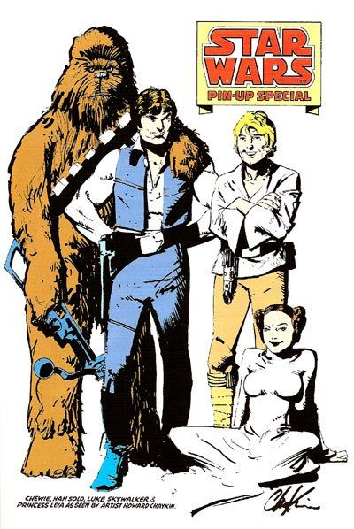 Star Wars Pin-Up Special by Howard Chaykin