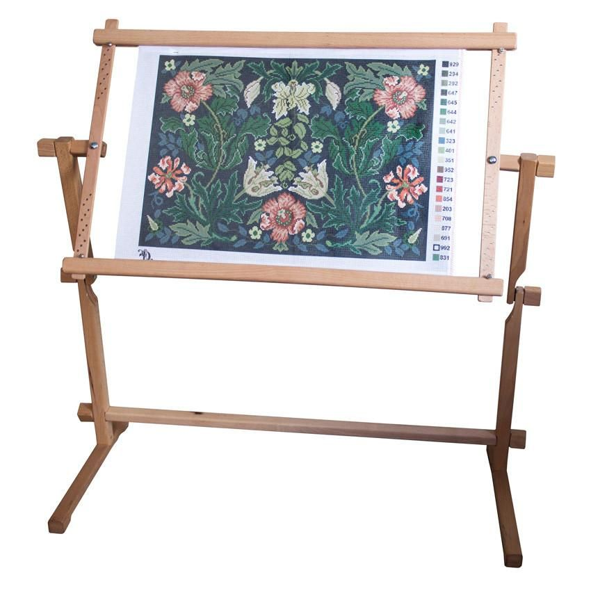 Beechwood Floor Stand for needlepoint frames | Books & accessories ...