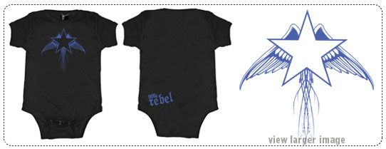 Little Rebel Clothing * punk clothing for infants and toddlers