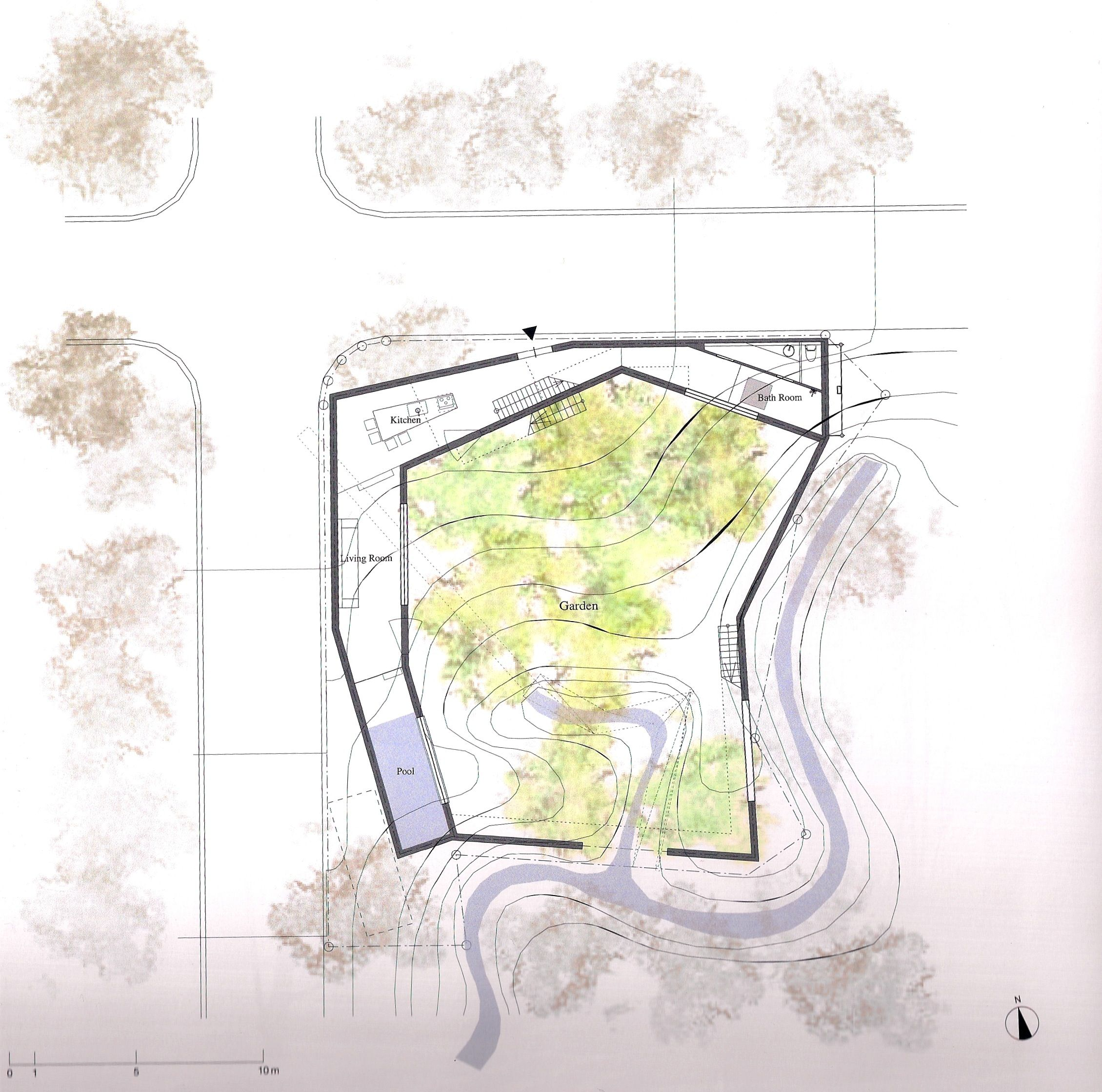 SOU FUJIMOTO -garden house, Tochigi   2D drawing   Pinterest ...