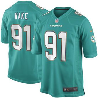 980b9f36c ... Game Jersey Nike Cameron Wake Miami Dolphins Aqua Football Jersey  dolphins phinsup nfl .