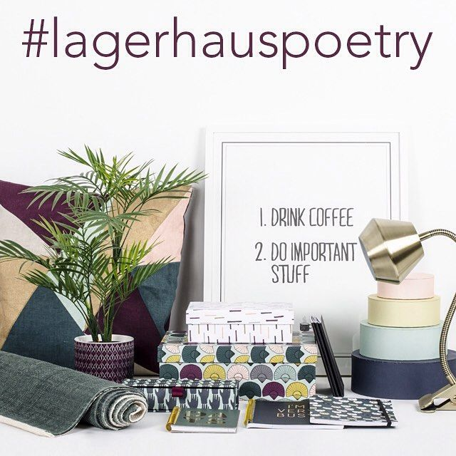 Hi guys! Don't forget to enter our #lagerhauspoetry contest before Thursday 11.59 pm, for a chance to win awesome prizes. Check out our posts a few days back for contest terms.