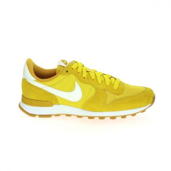 online retailer best deals on usa cheap sale Baskets jaune NIKE INTERNATIONALIST - Bessec-chaussures.com ...