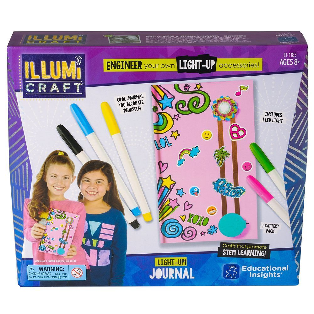 Educational Insights IllumiCraft LightUp! Journal
