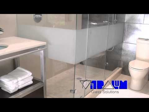FRAMELESS GLASS SHOWER DOORS ORLANDO TAMPA DAYTONA FLORIDA SHOWER ENCLOSURES