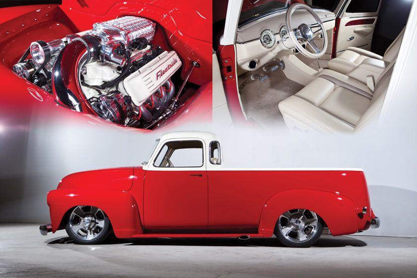 50 Phantom Fleetside - Kindig It Design   Hot Rods   54 chevy truck