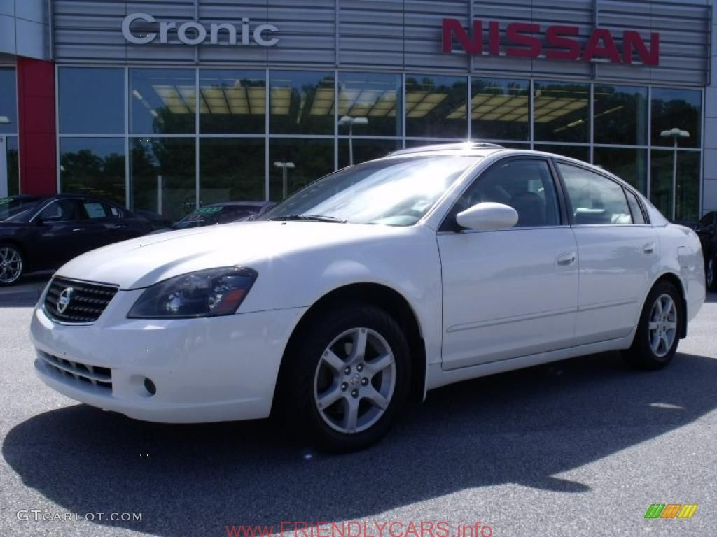 Cool Nissan Altima 2006 White Car Images Hd 2006 Satin White Pearl