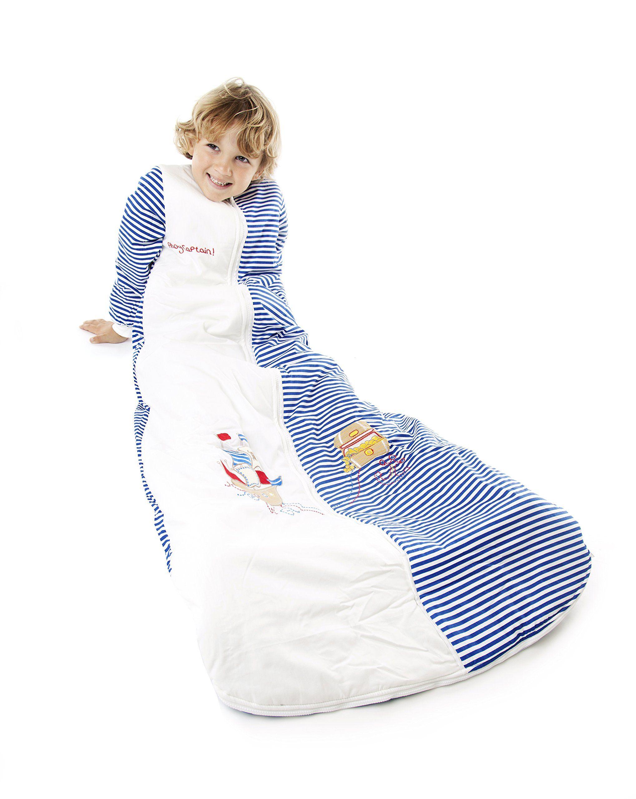 Kids summer sleep sack wearable blanket 1 tog pirate 610