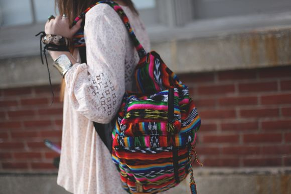 Image result for girl with schoolbag tumblr