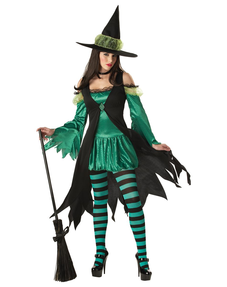 Adult Emerald Witch Halloween Costume £39.50 :  Direct 2 U Fancy Dress Superstore. Fancy Dress, Party Themes & Accessories For The Whole Family. http://direct2ufancydress.com/adult-emerald-witch-halloween-costume-p-6285.html