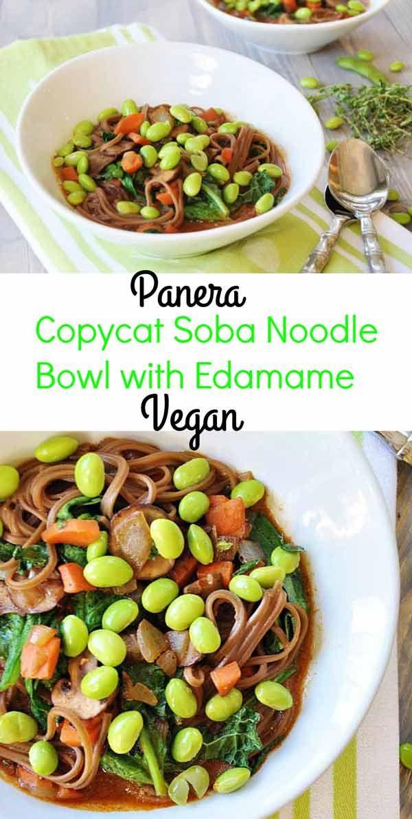 Copycat Soba Noodle Bowl With Edamame Recipe Soba Noodles