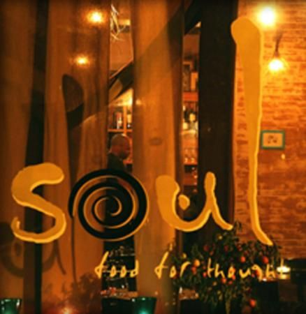 Soul, Bruxelles -  really super bio fusion resto   - creative and different. Great atmosphere.