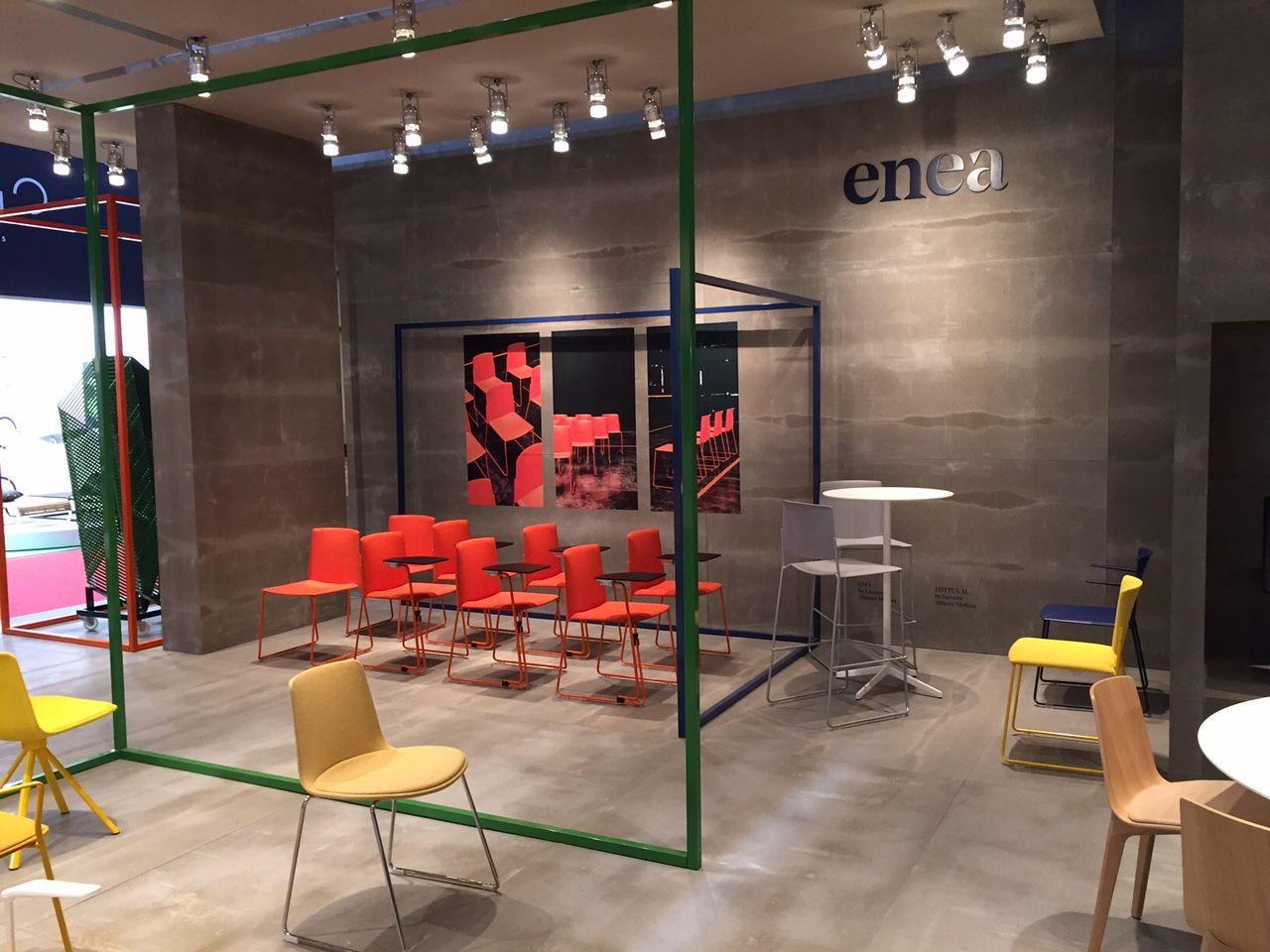 Enea Design S Booth At Salone Del Mobile De Milano Hall 10 Booth E14 April 14th 19th 2015 Booth Design Modern Cafe Design