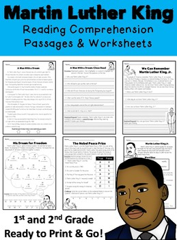 Martin Luther King Jr. Worksheets | Teaching: Holidays ...