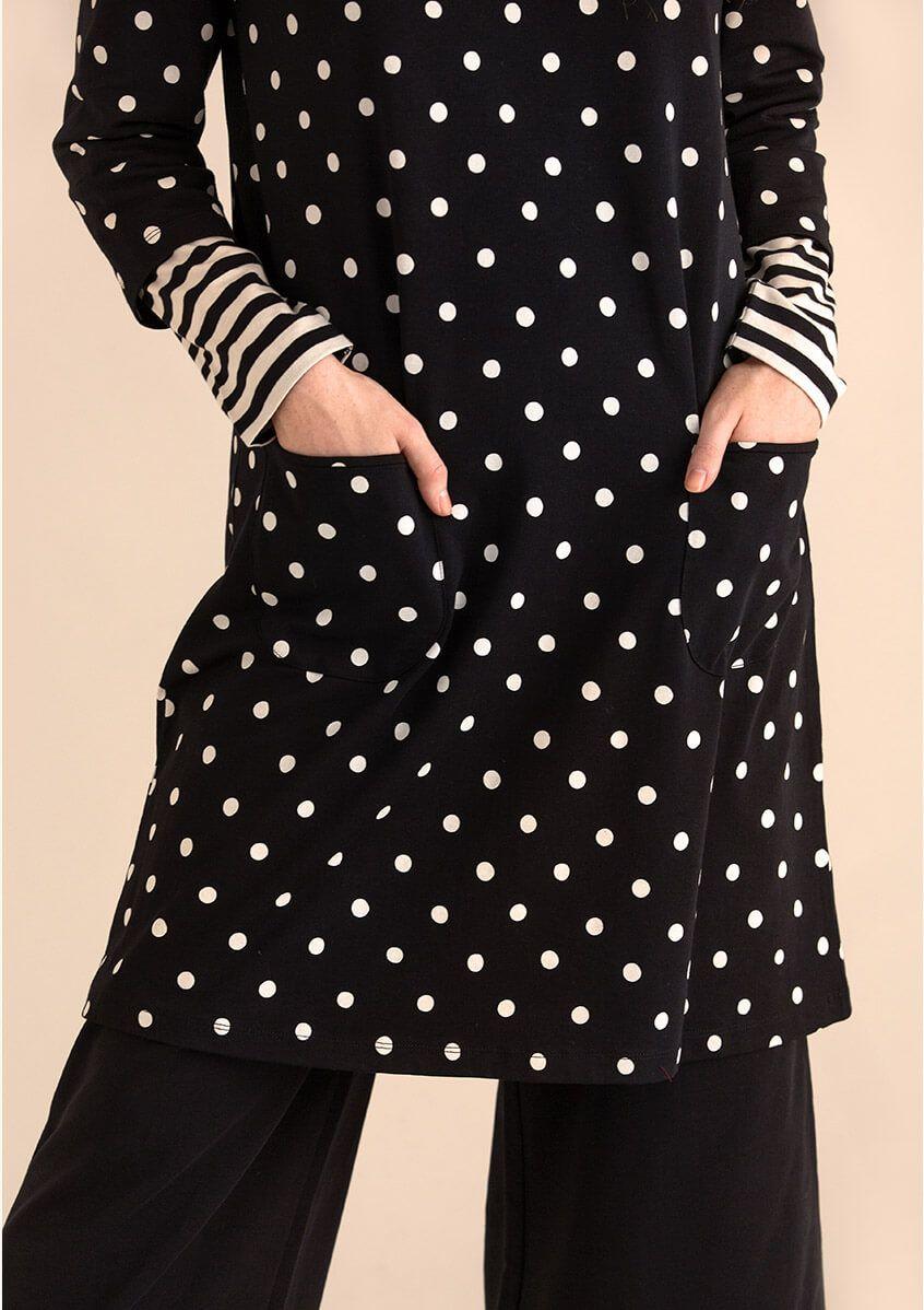 GUDRUN SJODEN Boxy Short Linen Blend Knit
