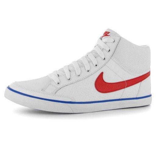 6855e4714087 Nike Capri 3 kožené Pánske Mid Top tenisky