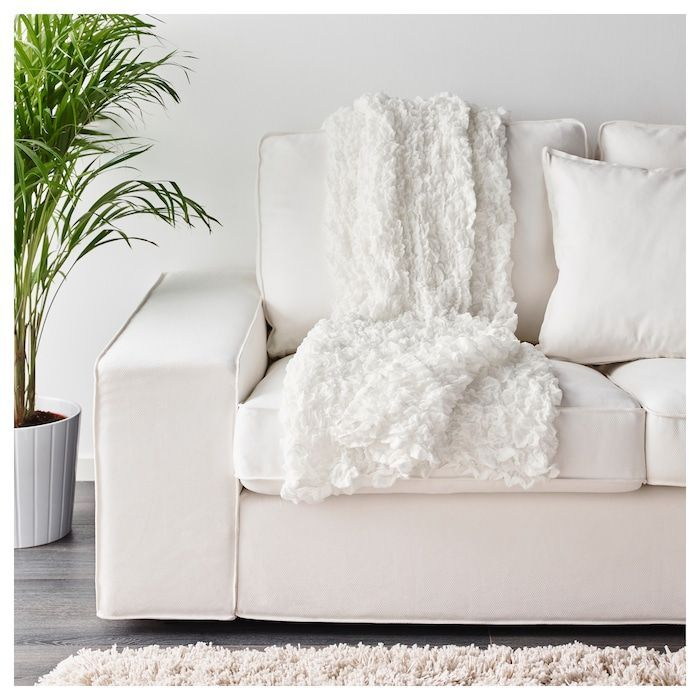 Ofelia Decke Weiss Decke Ofelia Weiss White Blanket Ikea