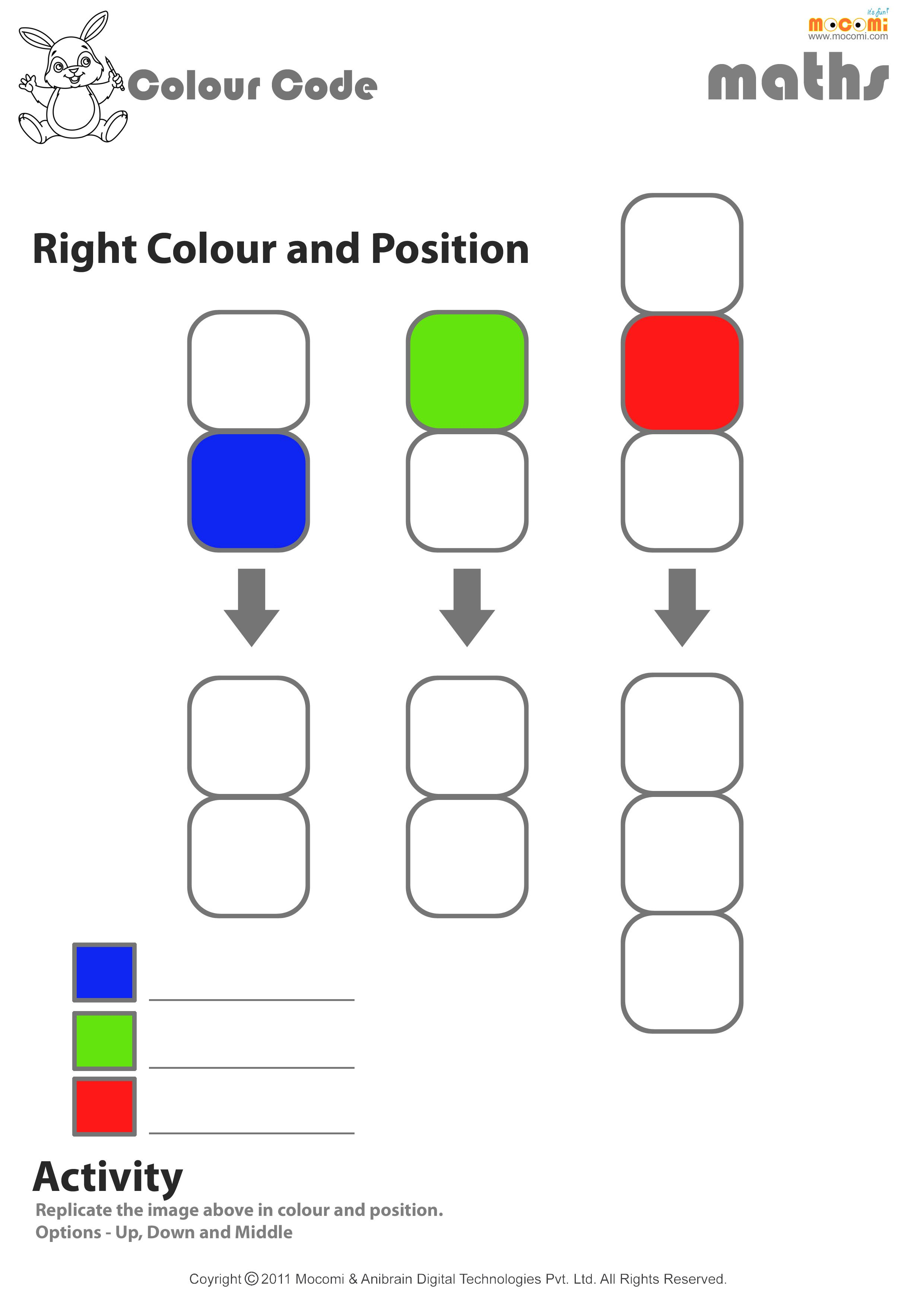 Up, Down or Middle Worksheet - Math for Kids   Maths for Kids   Kids ...