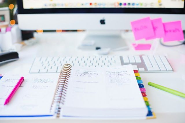 Annawithlove Photography \ My desk \ Emily Ley's Simplified Planner
