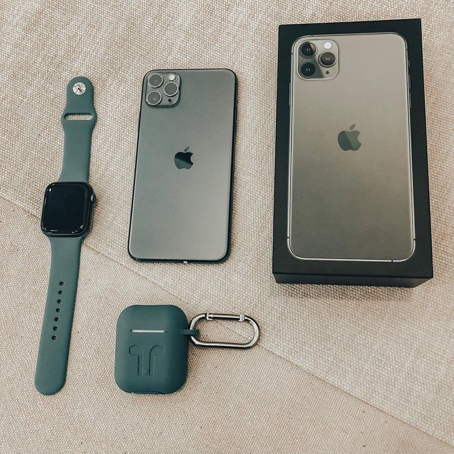 Midnight Green Apple Lifestyle All Apple Products Iphone Apple Technology